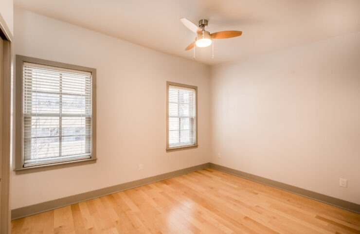 Ceiling Fan In Open Living Space