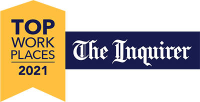 Top Work Places 2021 - The Inquirer