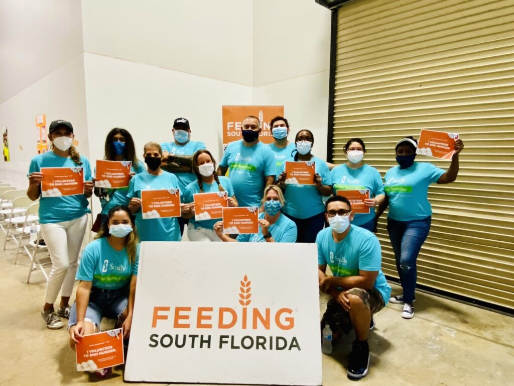 Scully Teams and Feeding South Florida