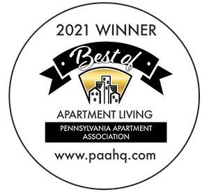 2021 Winner Best of Apartment Living